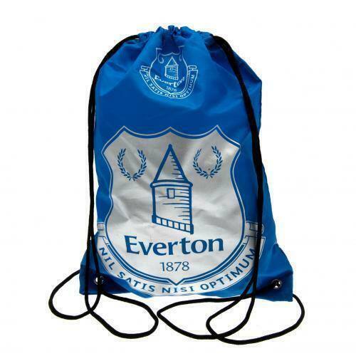 Everton FC Foil Print Gym Bag Official Licensed Football Merchandise