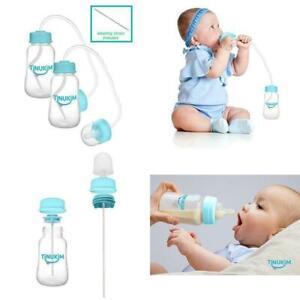 4 Ounce Anti-Colic Nursing System Set of 2... Tinukim Hands Free Baby Bottle