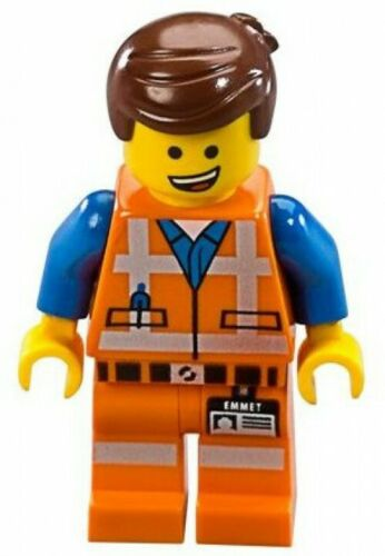 The LEGO Movie Emmet Minifigure No Accessories Loose