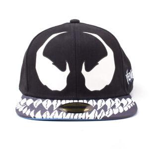 Caricamento dell immagine in corso MARVEL-COMICS-SPIDER-Man-Venom-Snapback- Cappellino-Da- fa4c34d07700