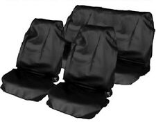 HYUNDAI SANTA FE 01-05 HEAVY DUTY BLACK FULL SET WATERPROOF SEAT COVERS