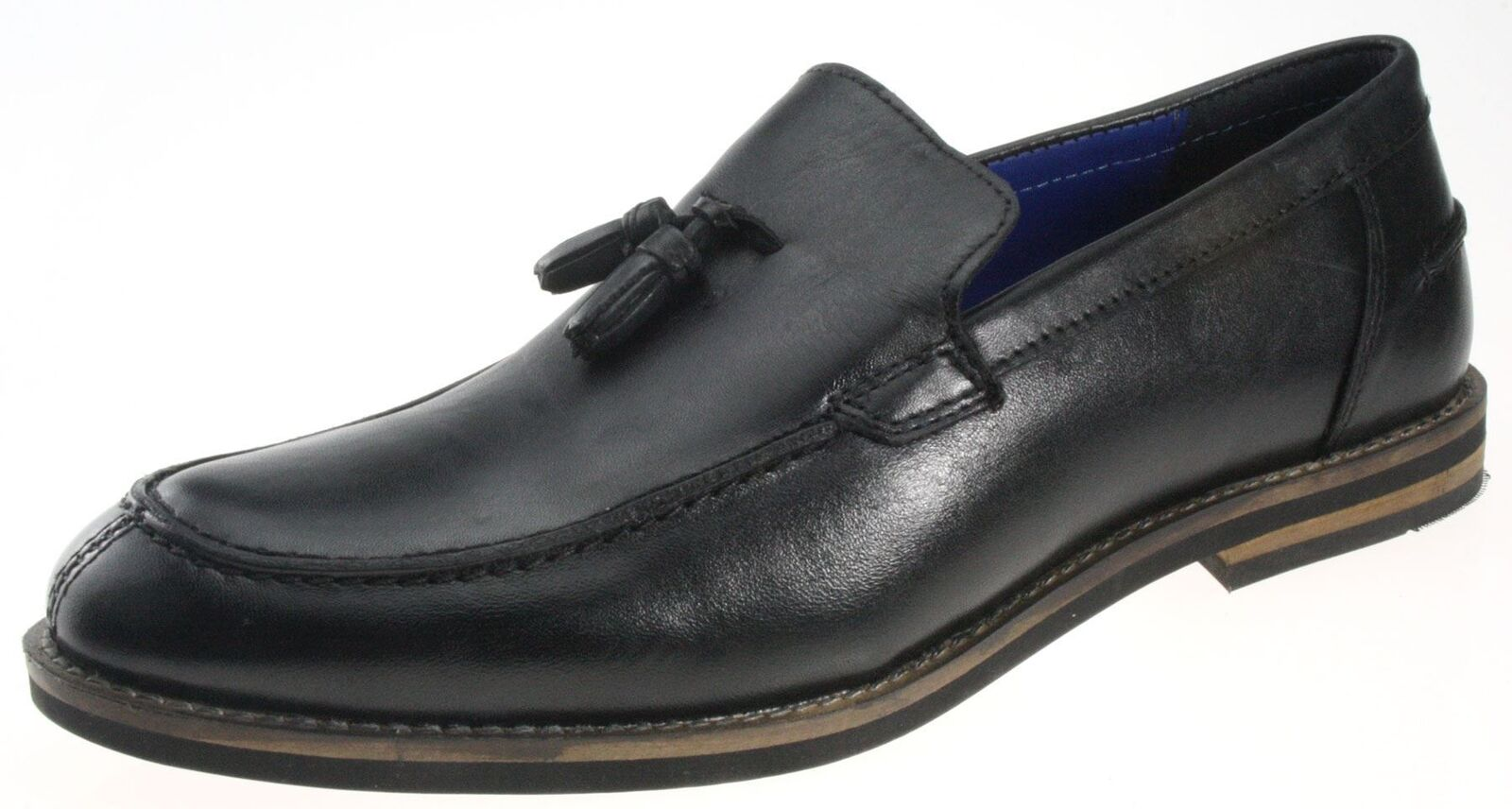 ROT Tape Sligo Schuhe schwarze Leder Slipper Herren Schuhe Sligo Troddel Slipper 7ae516