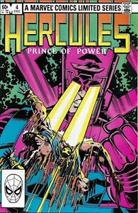 Hercules-Comic-Issue-4-Limited-Series-Bronze-Age-First-Print-Layton-Parker-1982