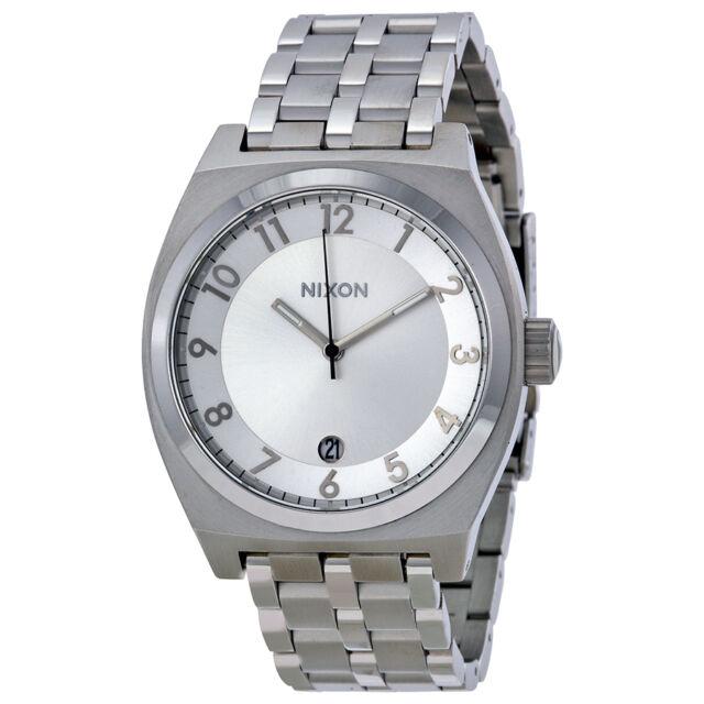 Nixon Monopoly Silver-tone Mens Watch A325100