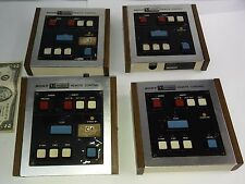 Vintage lot 4 Sony RM 410 U-matic Remote Control videocassette recorder VO-2850