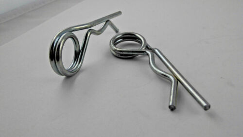 Dauersplint 3 mm 2 Stück universal 67 mm lang Motorrad Federsplint pin