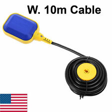 10m Cable Float Switch Liquid Fluid Water Level Controller For Tank Pump 24v