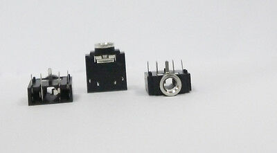 20Pcs 3.5mm Stereo Jack Socket Audio Connector PCB Mount 3F07 new A+