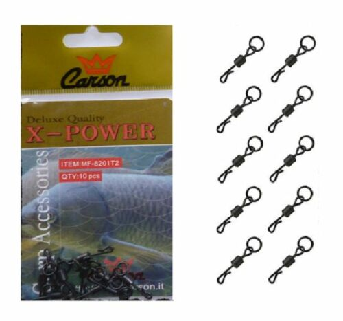 10 Rolls Quick Release with Ring Fishing Carp Terminal Mount carp