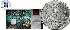 Österreich 5 Euro Silber 2013 Silbermünze Handgehoben: Land des Wassers