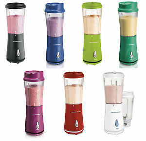 Hamilton-Beach-Single-Serve-Blenders-with-Travel-Lids-7-Colors