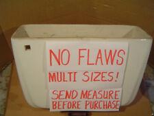 NO FLAWS MULTI SIZES! WHITE American Standard toilet tank F4049 4049 3.5 g WHITE