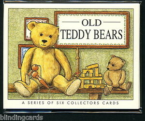OLD TEDDY BEARS by Golden Era  Collectors cards - Terryer Chad Valley JK Farnell