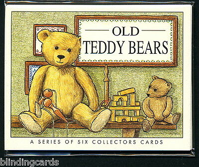 Terryer Chad Valley JK Farnell OLD TEDDY BEARS by Golden Era Collectors cards