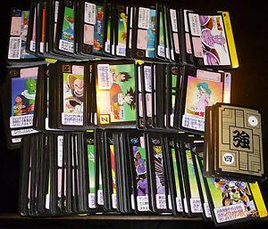 DRAGON BALL Z GT DBZ HONDAN PART 7 REGULAR CARD CARTE A L/'UNITE//CHOOSE FROM LIST