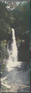Japan-Panoramic-View-Waterfall-Landscape-Vintage-silver-print-Vue-panoramiqu
