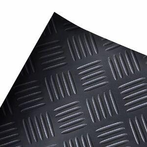 Antirutschmatte-Checker-Gummimatte-Flachnoppenmatte-Matte-Olresistent