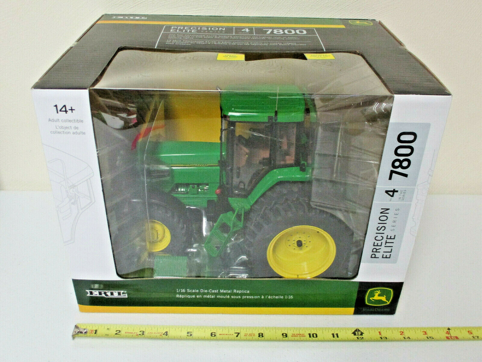 John Deere 7800   4 Precision Elite Series By Ertl 1 16th Scale