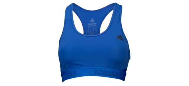 243fb677e7 adidas Alphaskin Racerback Medium-impact Sports Bra Cw3405 Size 2xs ...
