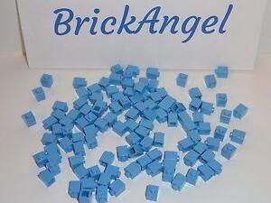 NEW LEGO Medium Blue 1X1 Bricks Bulk Lot of 100 Pieces 3005