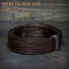 American Bonsai Brown Aluminum Training Wire - 2.5mm - 1 kilogram - 255ft - 1k