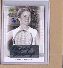 Nancy Richey 2013 Leaf Ace Authentic Tennis Holiday Bonus Auto 13/32