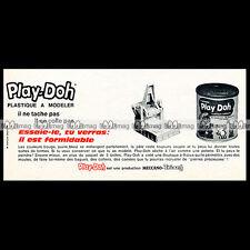 PLAY-DOH Meccano-Triang 'La Machine à bijoux' 1965 - Pub / Publicité / Ad #E129