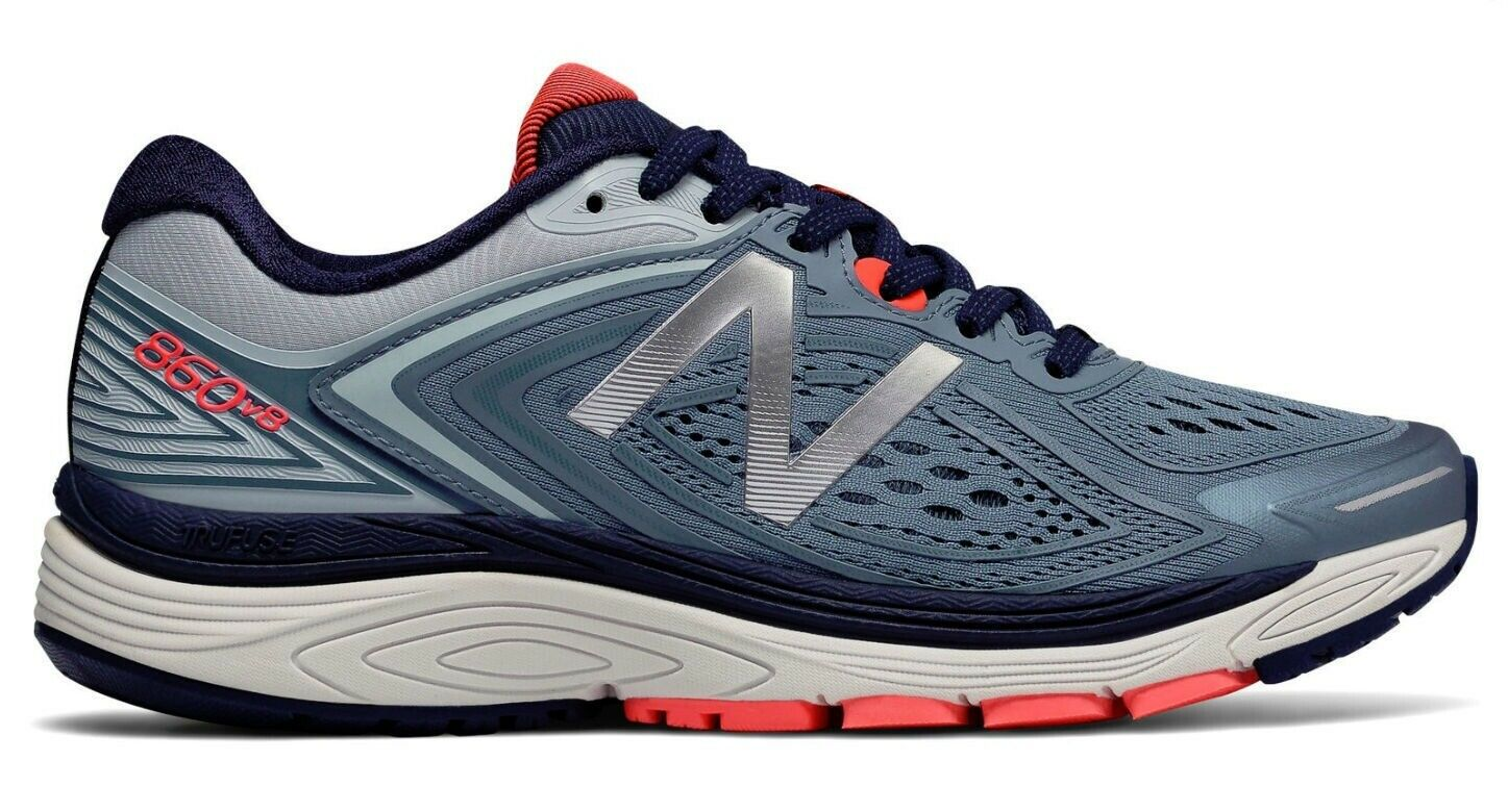 NEW BALANCE 860v8 RUNNING SHOES WOMENS SIZE 5 FREE USA SHIPPING