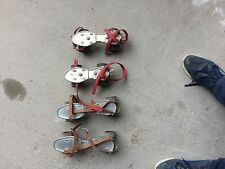 patins a roulettes vintage lot de 2 paires 1970