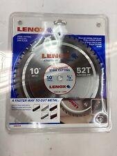 "LENOX 10/"" 52 Tooth Titanium//Carbide Steel Cutting Blade Free Shipping"