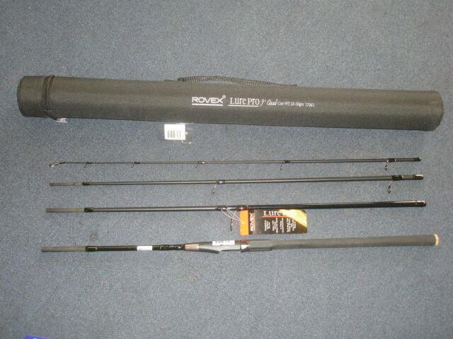 Rovex Lure Pro 4pc Quad Tige + Codura Tuyau TOUTES LES TAILLES Matériel de pêche