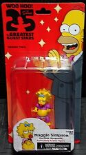 """The Simpsons 25 Years Greatest Guest Stars MAGGIE SIMPSON 5"""" Figure New! Pink"""