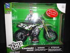 NewRay Kawasaki KX450F Chad Reed Two Two Motorsports 1/12