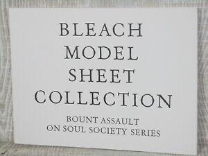 BLEACH-Model-Sheet-Collection-BOUNT-ASSAULT-ON-SOUL-SOCIETY-Art-Book-TITE-KUBO