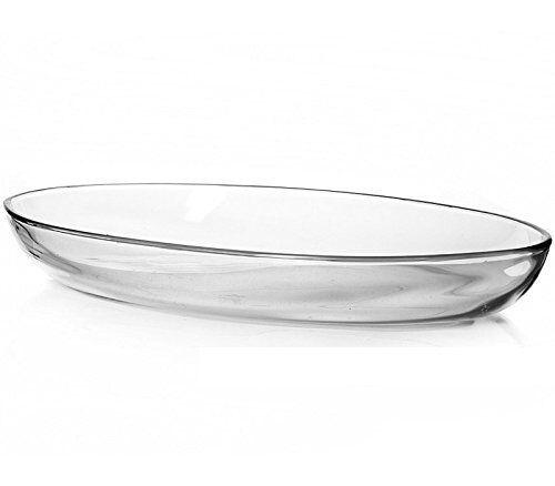 ovales placa 44 x 26cm Pasabahce 59774 – borcam tepsi tarta vidrio cáscara