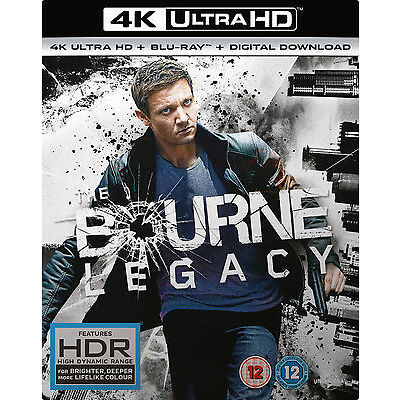 The Bourne Legacy (4K Ultra HD + Blu-ray + Digital Download) [UHD]