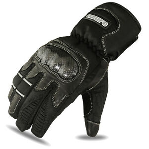 Motorbike Winter Gloves Biker Motorcycle Thermal Waterproof Black Leather Large - London, United Kingdom - If you want to return this item for any reason please ring 07866283563 to arrange return. Return cost will be paid by buyer. Item must be in original packing and unused. Any used items will not be returned. - London, United Kingdom