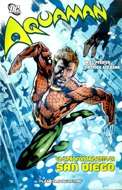 1841205 1112333 Libri Aquaman - Lo Sprofondamento Di San Diego