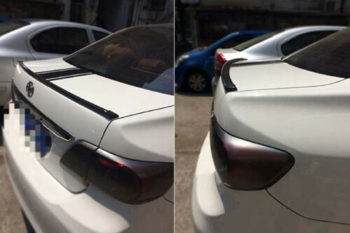 Carbon Fiber Look Front Bumper Lip /& Rear Boot Spoiler Lip for Nissan 350Z 370Z