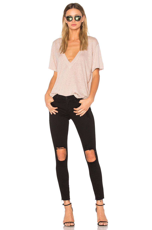 FRAME Lord black Denim Le Skinny De Jeane Corp Size 26 Retail  300