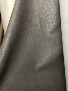Leather Upholstery Repair >> Details About Gray Sphere Embossed Vinyl Faux Leather Upholstery Hospitality Seat Repair