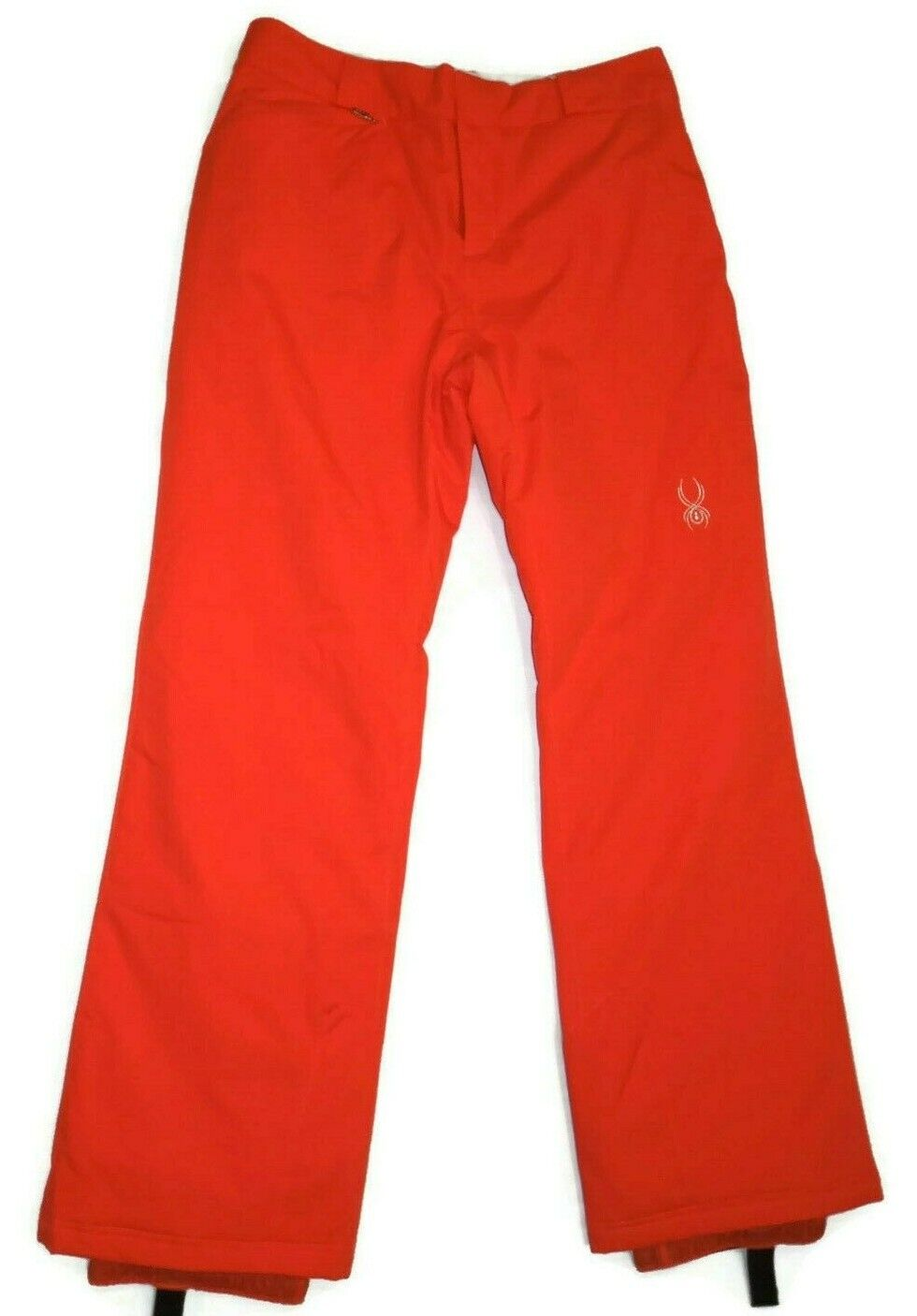 Spyder  women's Sizzle orange Ski snow Pants Size 12 retail  170  welcome to order
