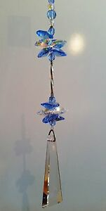 Made-with-SWAROVSKI-Elements-65mm-Crystal-6-Sided-Prism-Suncatcher-gift-rainbow