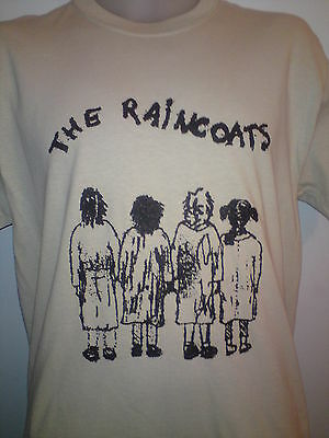 THE RAINCOATS PUNK MENS MUSIC T SHIRT