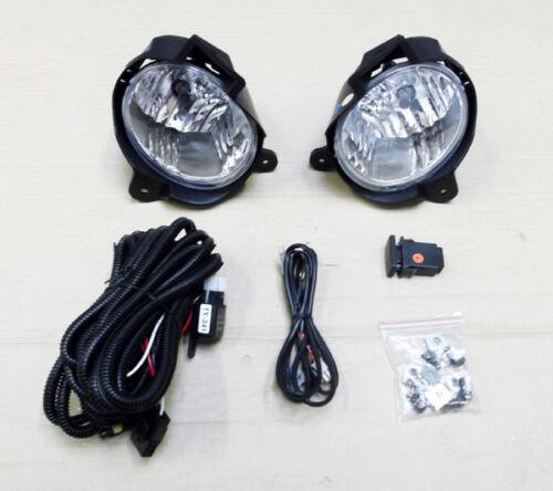 Toyota Hilux//Vigo 2.5TD//3.0TD MK7 Front Bumper Fog//Spot Lamp Kit 2011+ New