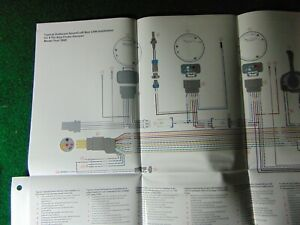 Details about 2000 Mercury Outboard Engine Harness Wiring Diagram  on