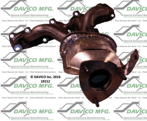 Manifold Front Davico Exc CA 19212 Catalytic Converter-Exact-Fit