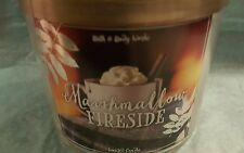 BATH AND BODY WORKS MARSHMALLOW FIRESIDE 3 WICK 14.5OZ SCENTED CANDLE