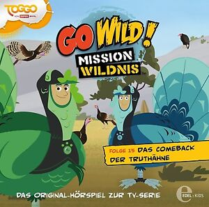 GO-WILD-MISSION-WILDNIS-15-ORIGINAL-HSP-TV-DAS-COMEBACK-DER-TRUTHAHNE-CD-NEU