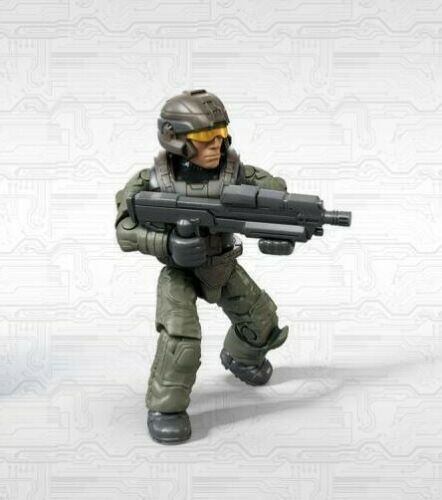 Mega Bloks Construx Halo Infinite Mystery Series 1 Green Marine Figure